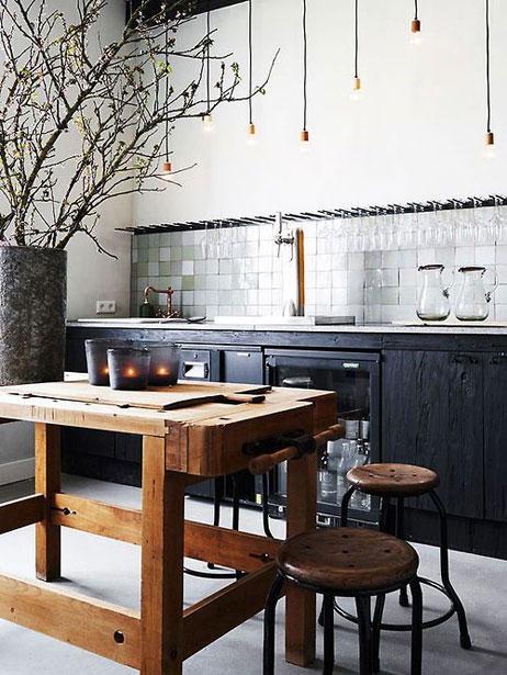 Wooninspiratie Landelijk Keuken Werktafel