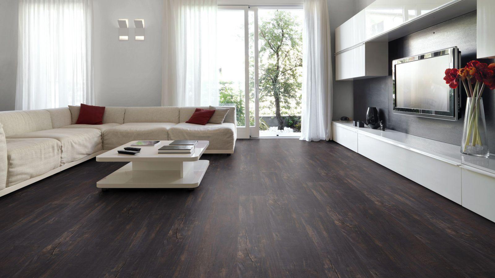 Zelf een vloer leggen laminaat in woonkamer
