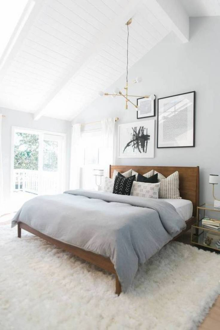 Slaapkamer ideeën grijs en bruin