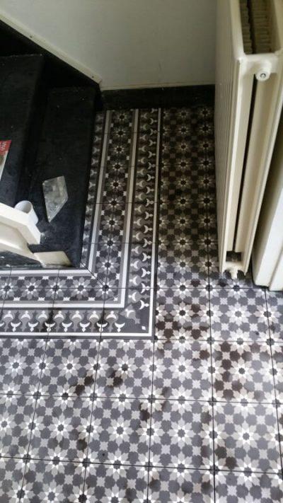 Portugese Tegels Hal Patronen Vloer