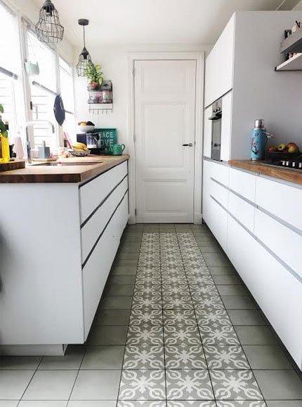Portugese Tegels Keuken Vloer