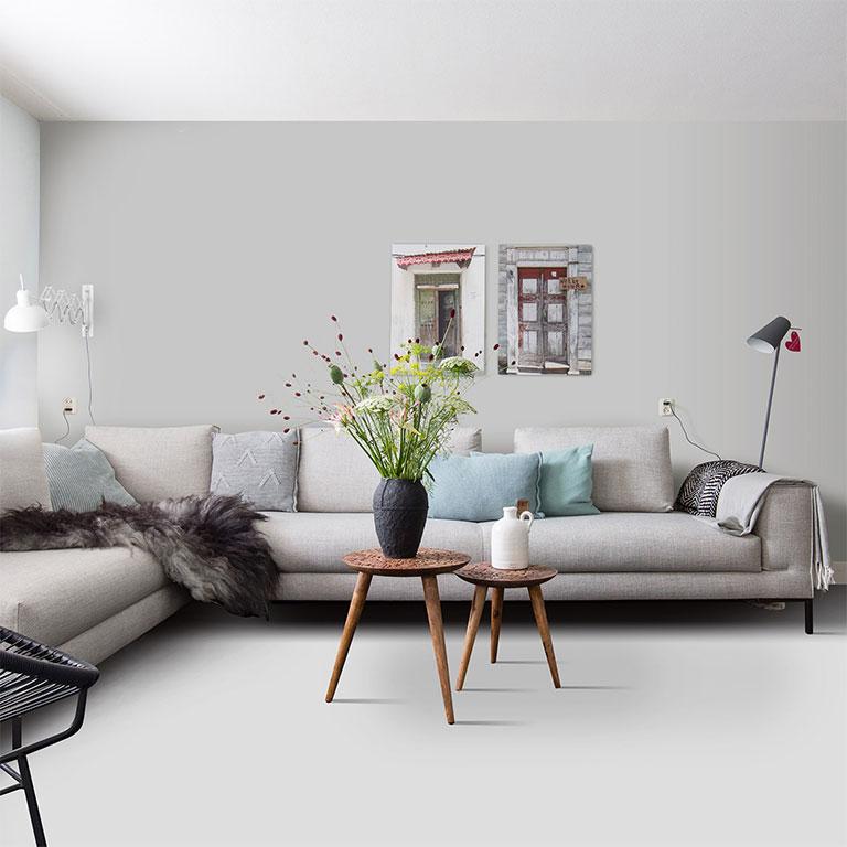 Moderne Woonkamer Vloeren
